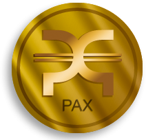 The world's first official PAX token